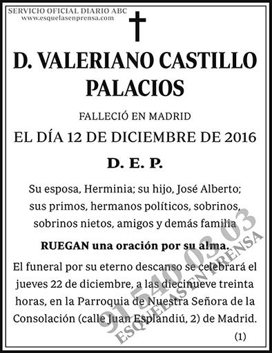 Valeriano Castillo Palacios